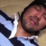 【ゲイ動画】ガチムチマッチョ髭イケメンのケツ割れサポーターから覗くアナルに巨根が沈むラガーマンユニフォームファック!