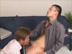 【ゲイ動画ビデオ】EXILE系スジ筋イケメンリーマンがスーツを脱ぎ捨て巨根で愛し合うゲイセックス!