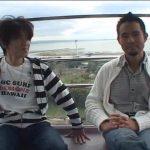 【ゲイ動画】二人の筋肉イケメンリーマンのプライベート! 野外フェラに、イチャイチャ巨根エッチとスリリングです♪