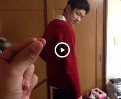 【Vine動画】指ぱっちんでスリ筋イケメンが裸侍に変身するミラクルw