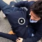 【Vine動画】校門でジャニーズ系DKが美少年に手マンとか最高かよw