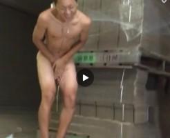 【Vine動画】倉庫で半裸になったやんちゃ系スリ筋イケメンの巨根にエアーを当てると……w