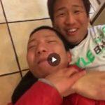 【Vine動画】やんちゃ系筋肉イケメンくんがノーパン巨根丸見えでイチャイチャしちゃってるぅ♪