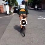 【Vine動画】ジャニーズ系筋肉美少年が法被と褌姿で自転車に乗るととてもエッチであることが判明!