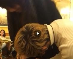 【Vine動画】ファミレスで突如陰毛を燃やしてちぎるやんちゃなジャニーズ系金髪イケメンw