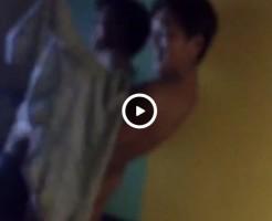 【Vine動画】カラオケボックスでジャニーズ系イケメンの尻に巨根を擦りつける筋肉イケメンw