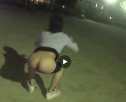 【Vine動画】夜の公園でやんちゃ入ったジャニーズ系イケメンくんたちがケツだけ星人ごっこw