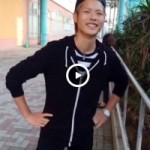 【Vine動画】やんちゃ系スリ筋金髪イケメンが背伸びをすると巨根がニョッキリw