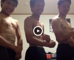 【Vine動画】可愛い童顔ジャニーズ系イケメンがその素晴らしい血管バリバリ筋肉を見せつける!