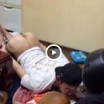 【Vine動画】やんちゃ系筋肉イケメンがうつぶせで生尻プリけつを公開w