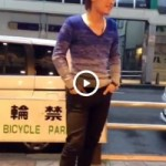 【Vine動画】ハーフ顔のイケメンが商店街でチンコと尻を露出するありがたい暴挙♪