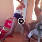 【Vine動画】眼鏡童顔のジャニーズ系スリムイケメン君がドドスコラブ注入で生尻披露w