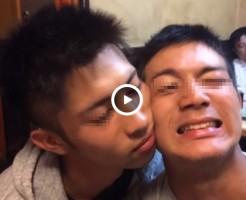 【Vine動画】筋肉マッチョイケメンのイチャイチャBLほおずり♪ …は、マジ痛いらしいですw