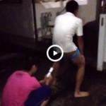 【Vine動画】スジ筋イケメンが人間ウォシュレットでアナル洗浄w